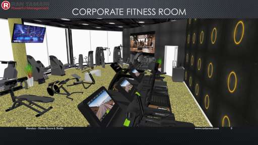 Corporate Fitness Room 1