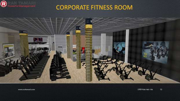 Corporate Fitness Room 5