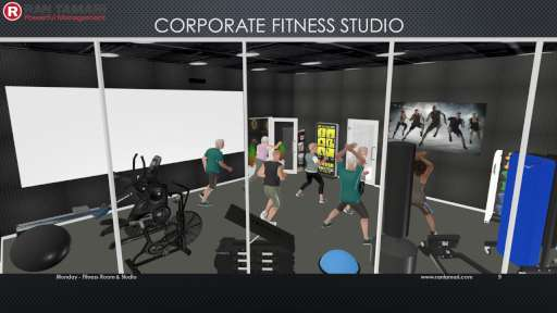 Corporate Fitness Studio 1